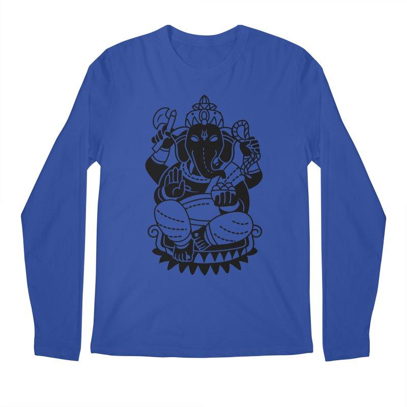 Ganesh Men's Regular Longsleeve T-Shirt by ellingson's Artist Shop