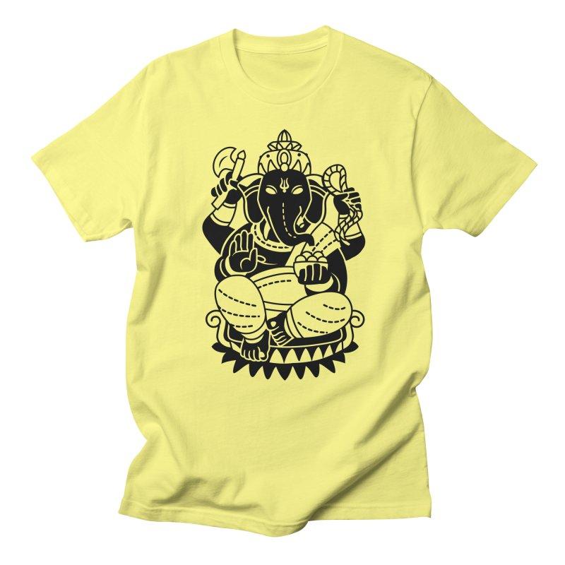 Ganesh Men's Regular T-Shirt by ellingson's Artist Shop