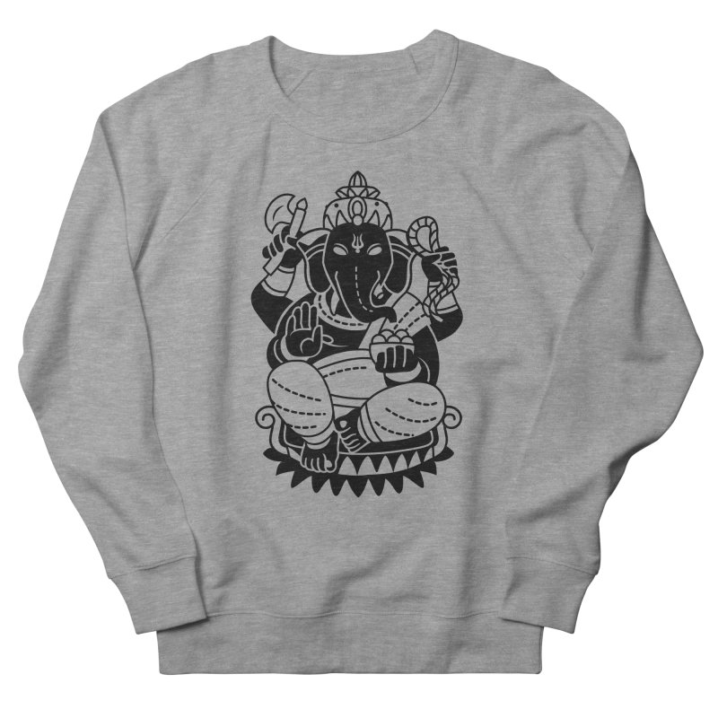 Ganesh Women's French Terry Sweatshirt by ellingson's Artist Shop