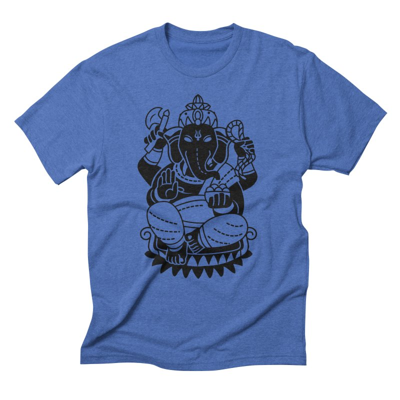 Ganesh Men's Triblend T-Shirt by ellingson's Artist Shop