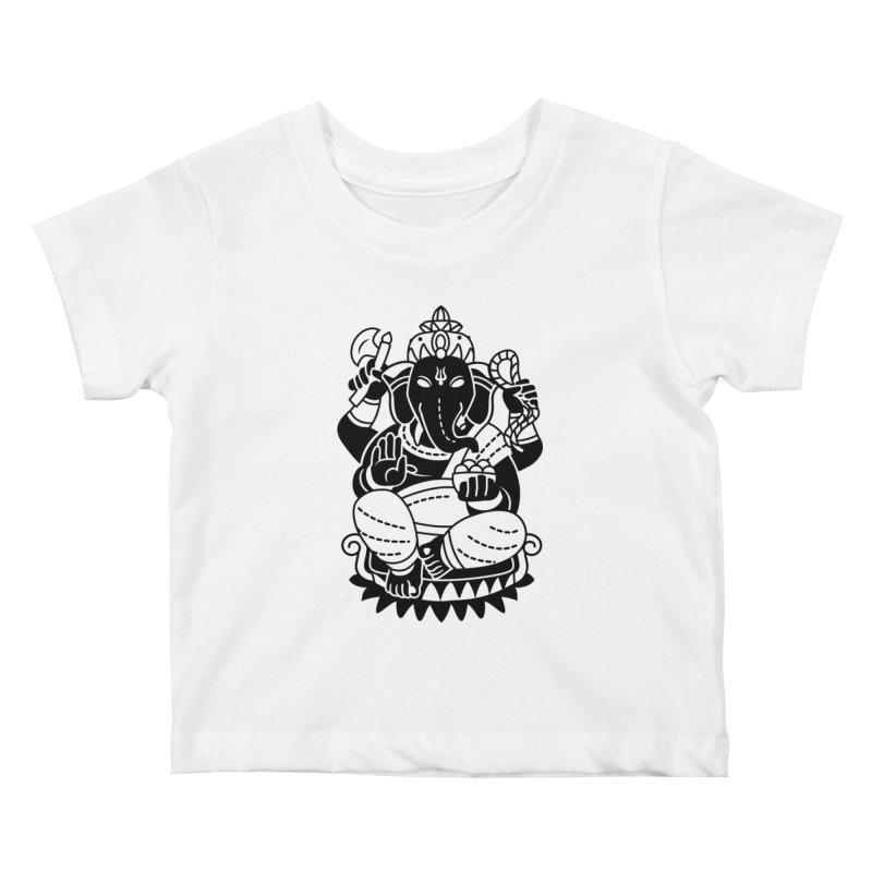 Ganesh Kids Baby T-Shirt by ellingson's Artist Shop