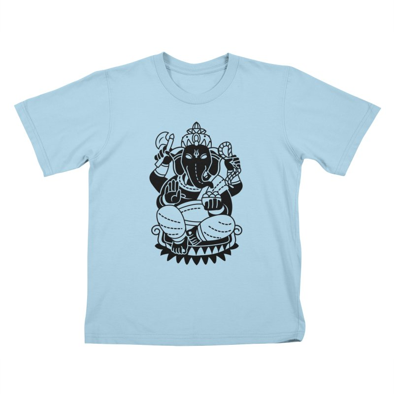 Ganesh Kids T-Shirt by ellingson's Artist Shop