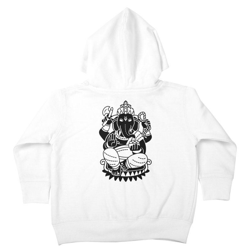 Ganesh Kids Toddler Zip-Up Hoody by ellingson's Artist Shop