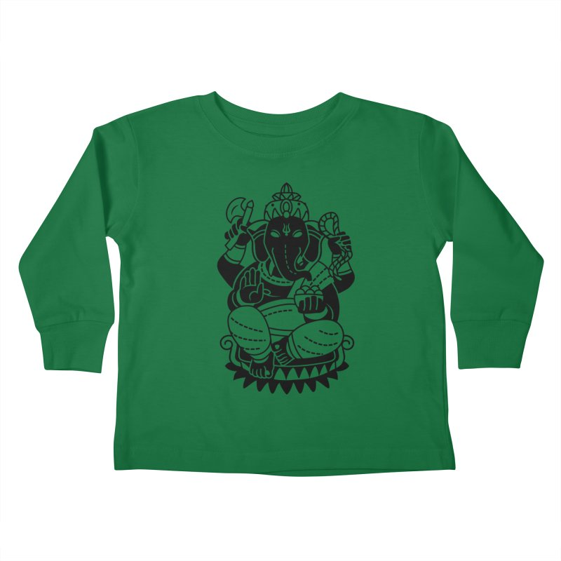 Ganesh Kids Toddler Longsleeve T-Shirt by ellingson's Artist Shop