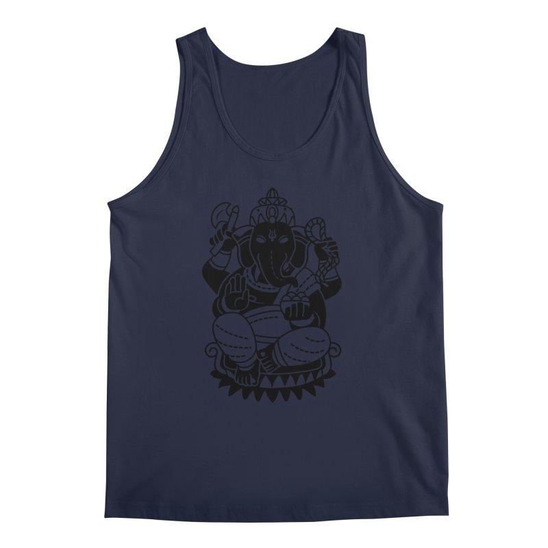 Ganesh Men's Regular Tank by ellingson's Artist Shop