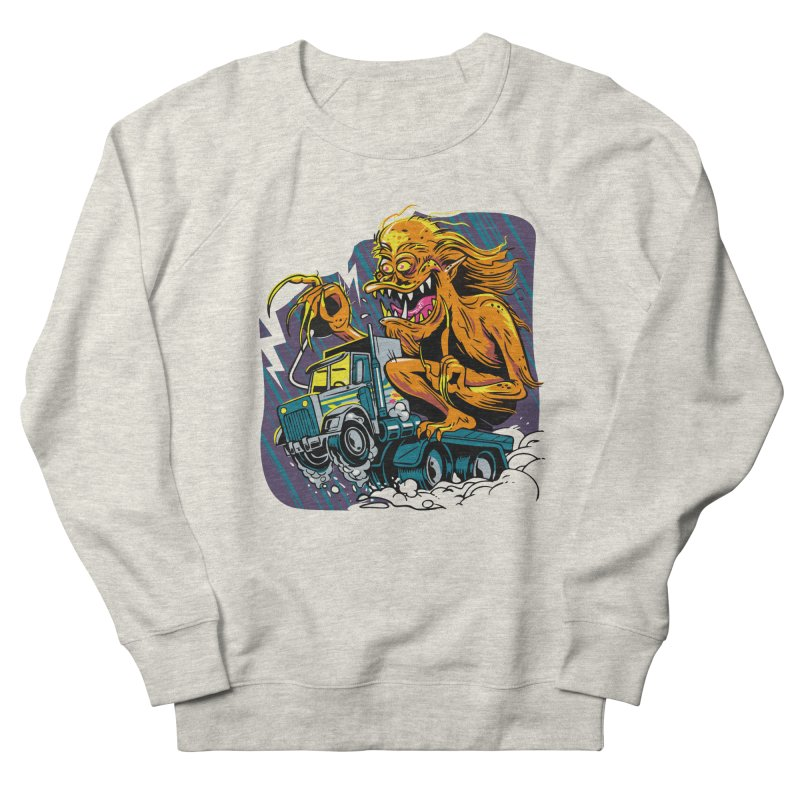 Porkchop Express Men's French Terry Sweatshirt by ellingson's Artist Shop