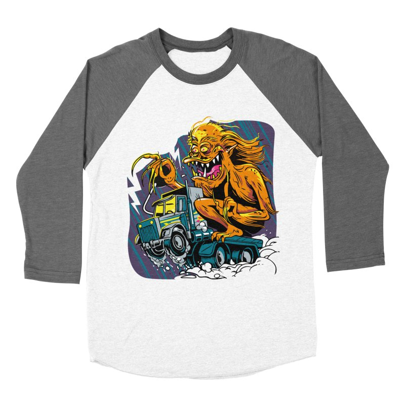 Porkchop Express Men's Baseball Triblend Longsleeve T-Shirt by ellingson's Artist Shop