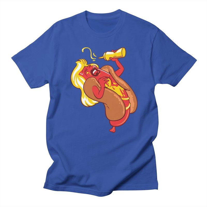 HOT DOG! Men's T-Shirt by ellingson's Artist Shop