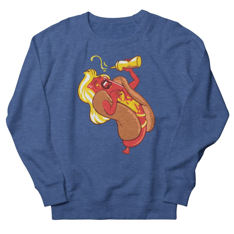 HOT DOG! Women's Sweatshirt by ellingson's Artist Shop
