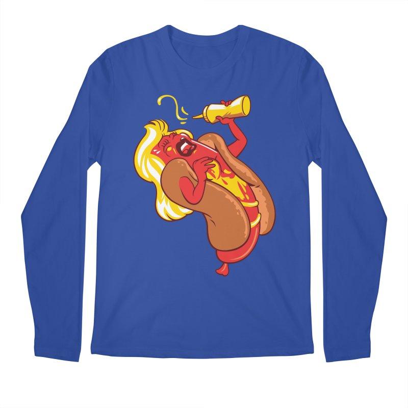 HOT DOG! Men's Regular Longsleeve T-Shirt by ellingson's Artist Shop