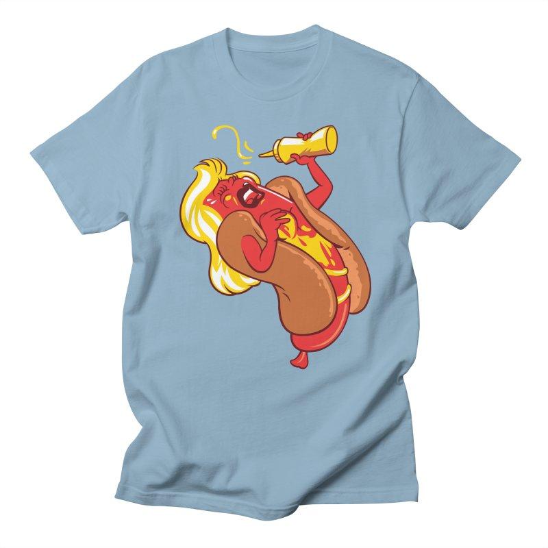 HOT DOG! Men's Regular T-Shirt by ellingson's Artist Shop
