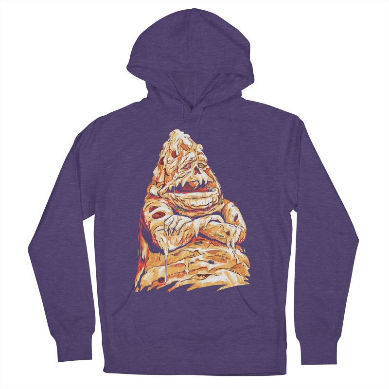 Pizza The Hutt Women's French Terry Pullover Hoody by ellingson's Artist Shop