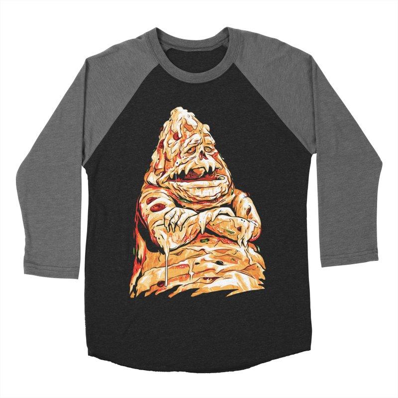 Pizza The Hutt Men's Baseball Triblend Longsleeve T-Shirt by ellingson's Artist Shop