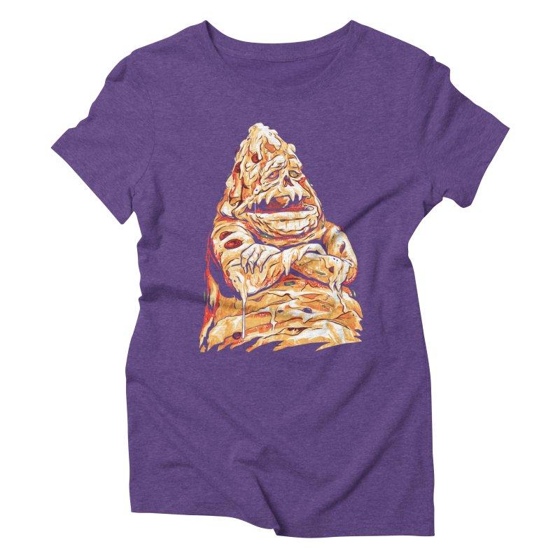 Pizza The Hutt Women's Triblend T-Shirt by ellingson's Artist Shop