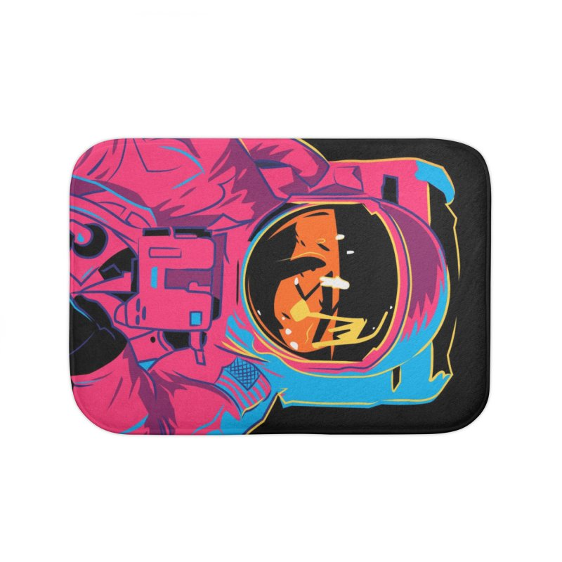 Aldrin After Andy Home Bath Mat by ellingson's Artist Shop