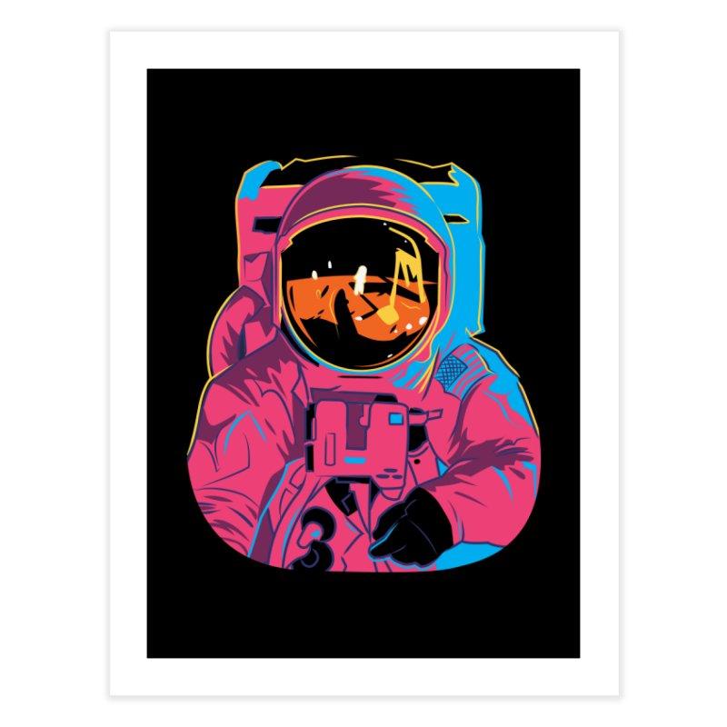 Aldrin After Andy Home Fine Art Print by ellingson's Artist Shop
