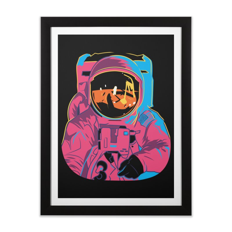 Aldrin After Andy Home Framed Fine Art Print by ellingson's Artist Shop