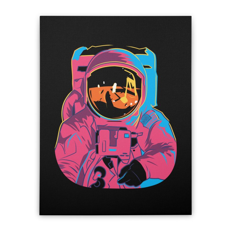 Aldrin After Andy Home Stretched Canvas by ellingson's Artist Shop