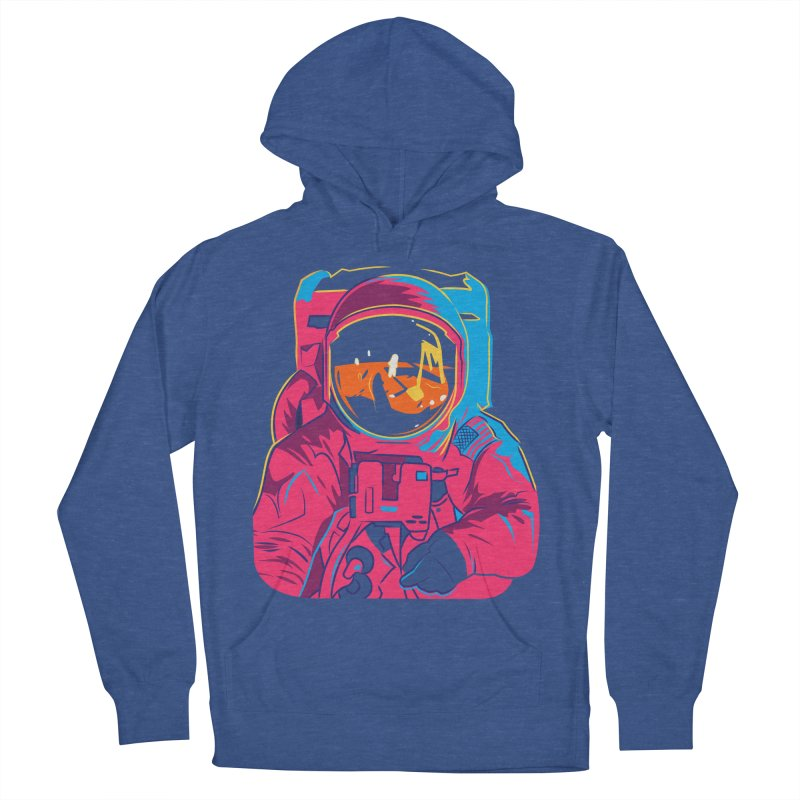 Aldrin After Andy Men's French Terry Pullover Hoody by ellingson's Artist Shop