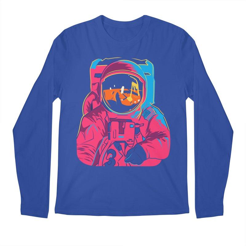 Aldrin After Andy Men's Regular Longsleeve T-Shirt by ellingson's Artist Shop