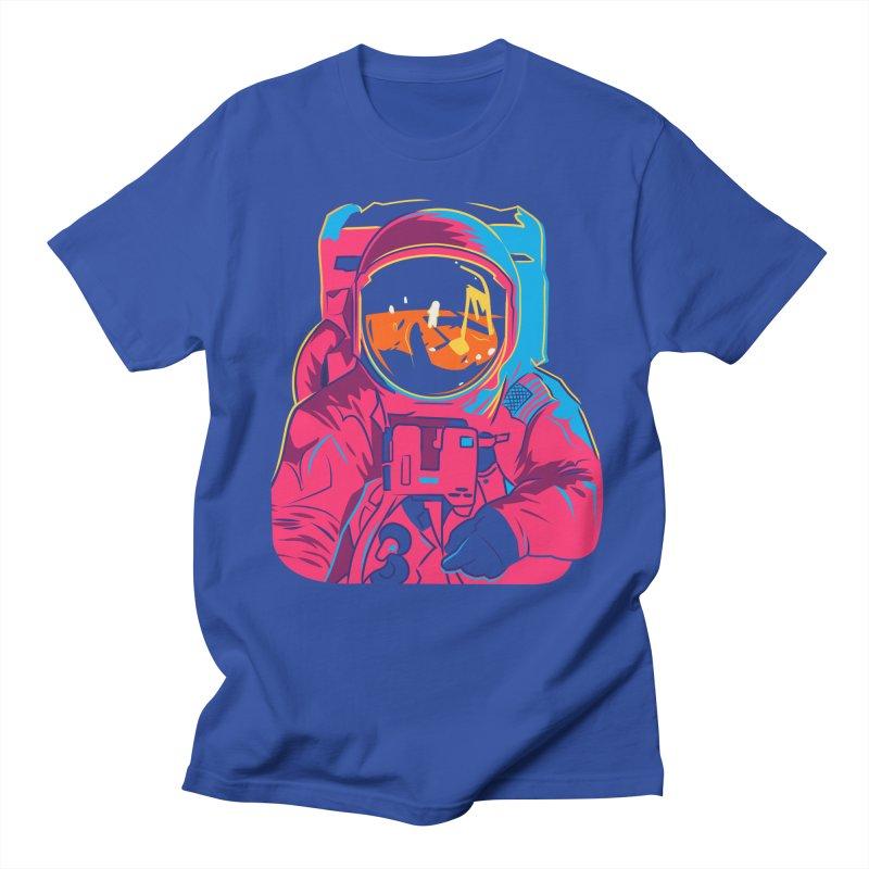 Aldrin After Andy Men's Regular T-Shirt by ellingson's Artist Shop