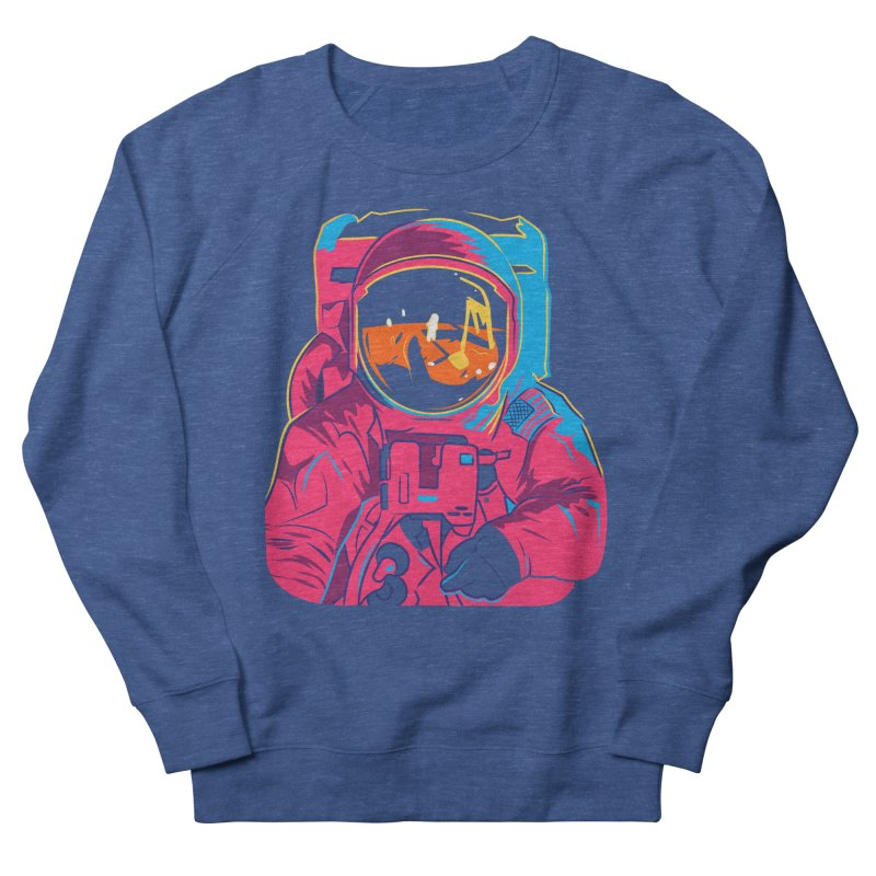 Aldrin After Andy Men's French Terry Sweatshirt by ellingson's Artist Shop