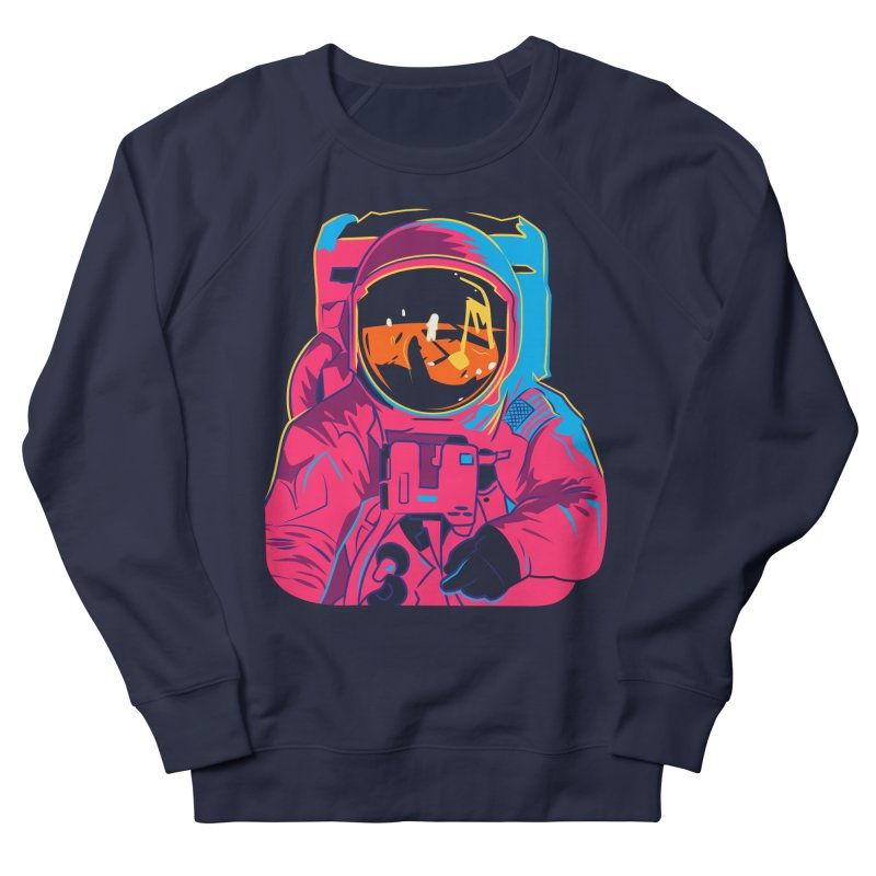 Aldrin After Andy in Men's Sweatshirt Navy by ellingson's Artist Shop