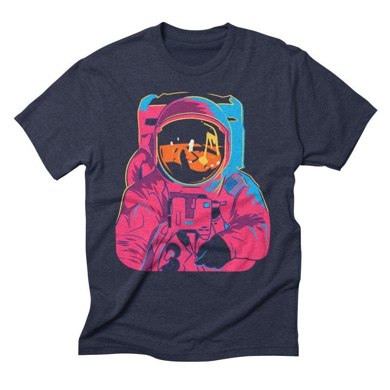 Aldrin After Andy Men's Triblend T-Shirt by ellingson's Artist Shop