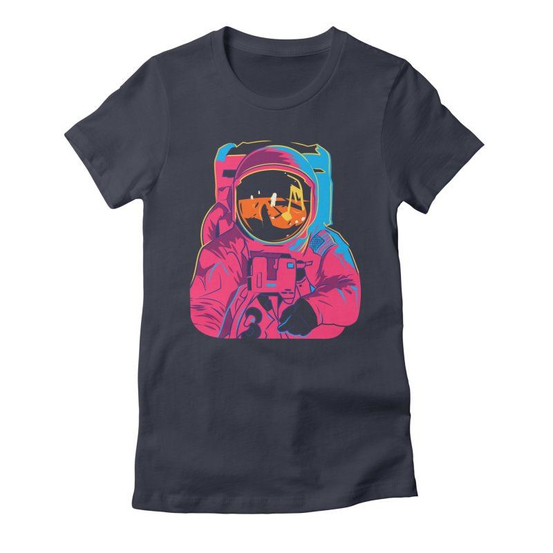Aldrin After Andy Women's Fitted T-Shirt by ellingson's Artist Shop