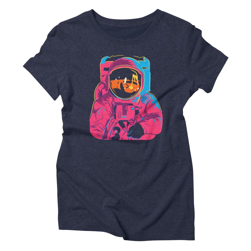 Aldrin After Andy Women's Triblend T-Shirt by ellingson's Artist Shop