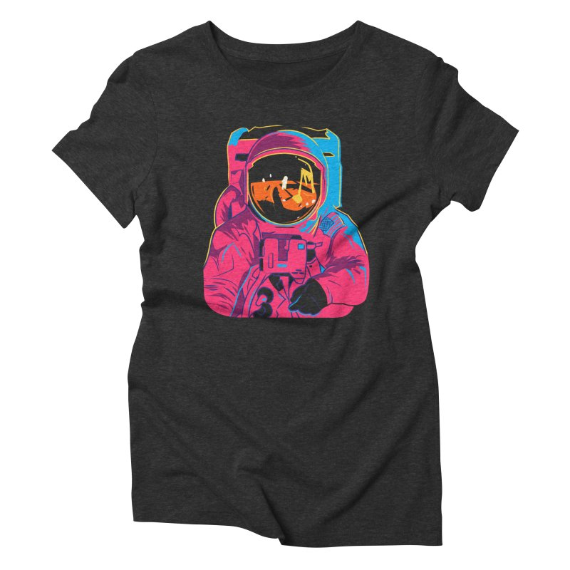 Aldrin After Andy Women's Triblend T-Shirt by ellingson's Artist Shop