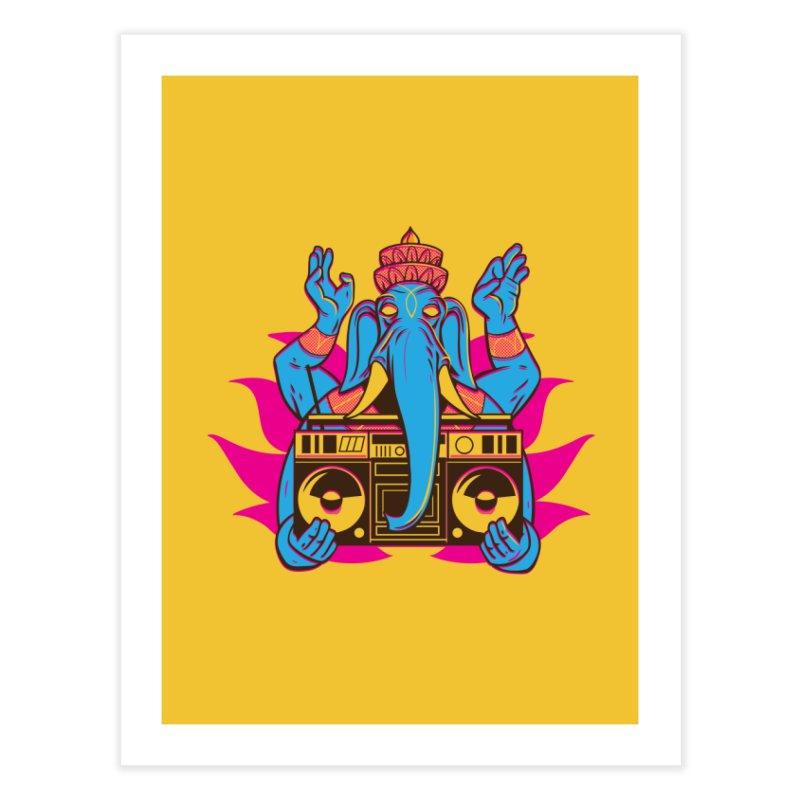 Ganesh Home Fine Art Print by ellingson's Artist Shop