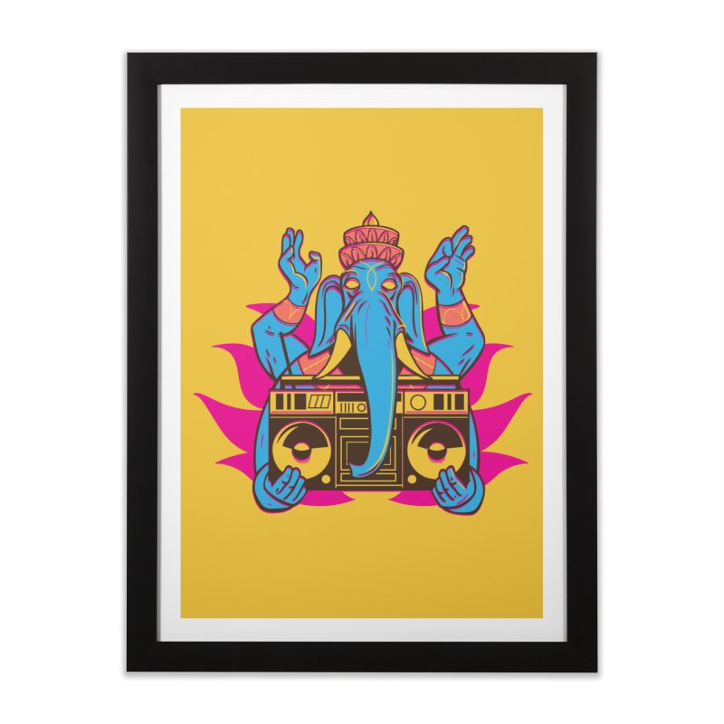 Ganesh Home Framed Fine Art Print by ellingson's Artist Shop