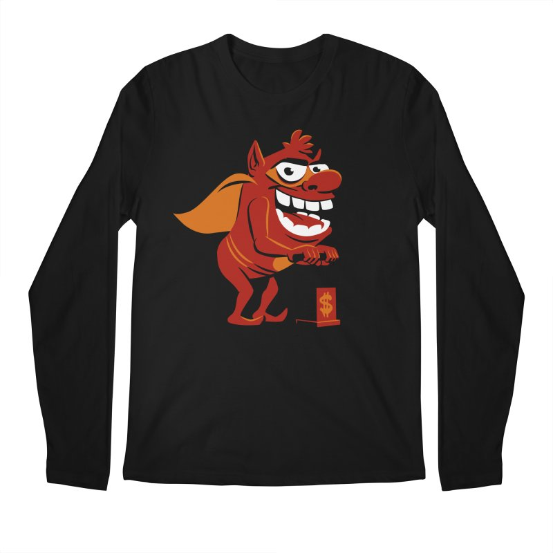 Whammy 1 Men's Regular Longsleeve T-Shirt by ellingson's Artist Shop