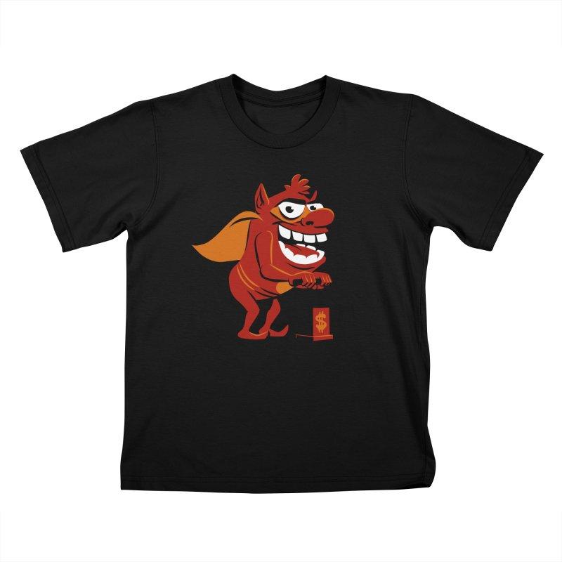 Whammy 1 Kids T-Shirt by ellingson's Artist Shop