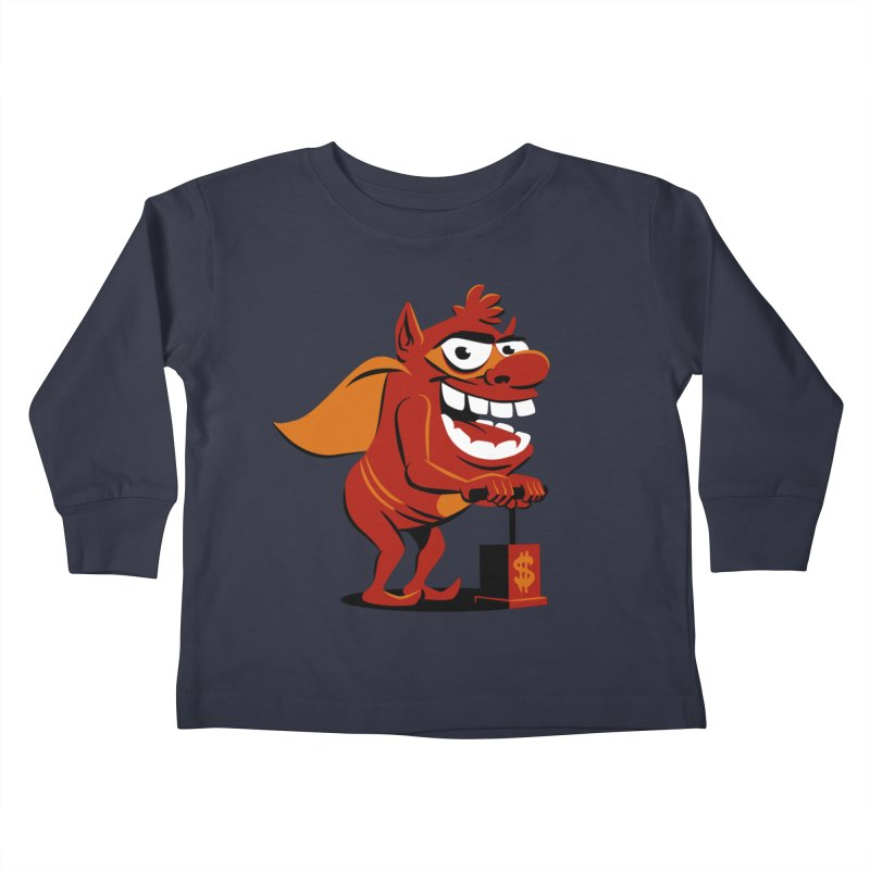 Whammy 1 Kids Toddler Longsleeve T-Shirt by ellingson's Artist Shop