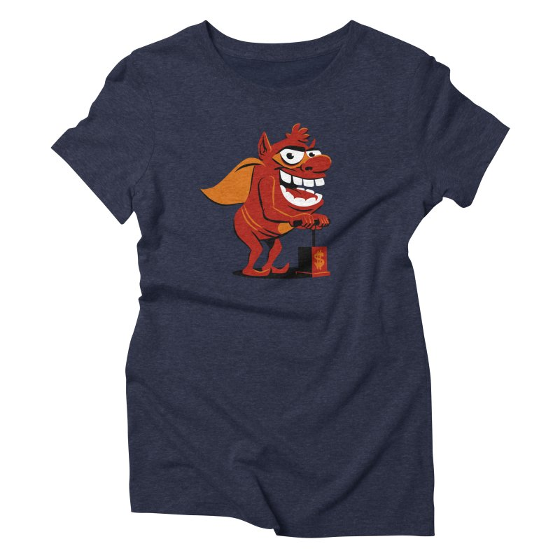 Whammy 1 Women's Triblend T-Shirt by ellingson's Artist Shop
