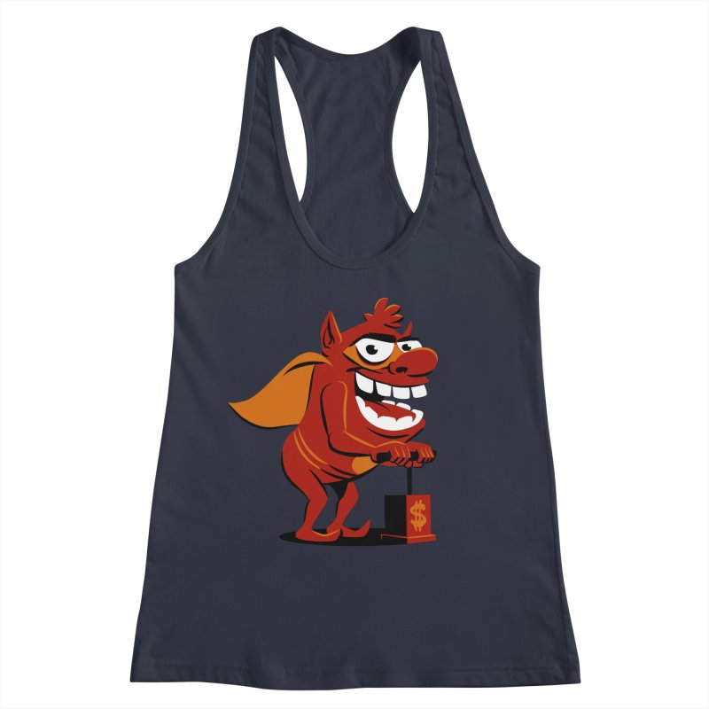 Whammy 1 Women's Racerback Tank by ellingson's Artist Shop
