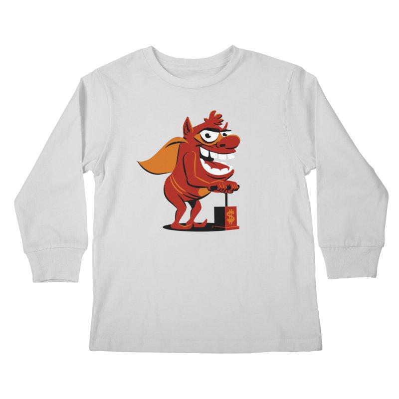 Whammy 1 Kids Longsleeve T-Shirt by ellingson's Artist Shop