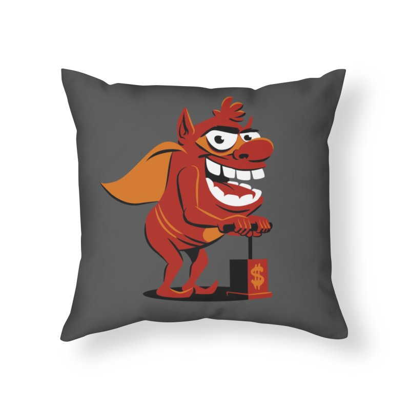Whammy 1 Home Throw Pillow by ellingson's Artist Shop