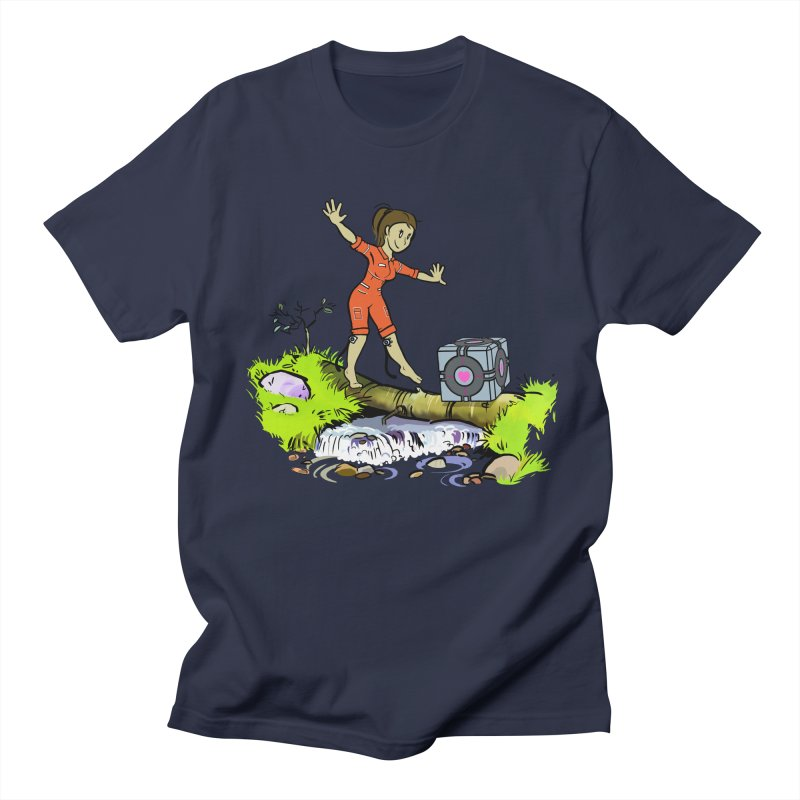 There's Testing Everywhere! Men's T-shirt by Ellipsis