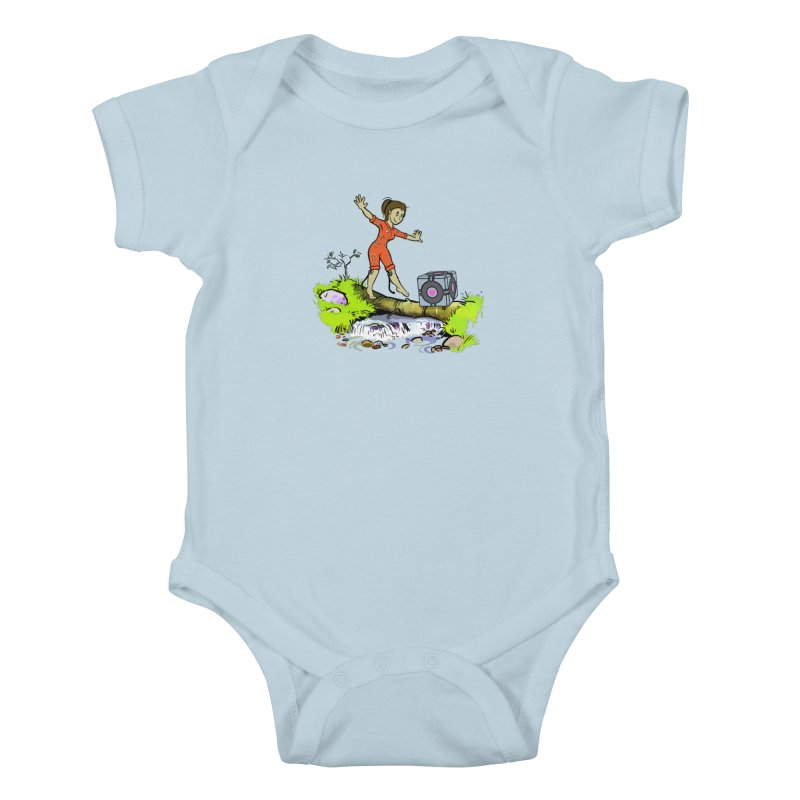 There's Testing Everywhere! Kids Baby Bodysuit by Ellipsis