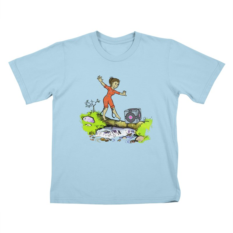 There's Testing Everywhere! Kids T-Shirt by Ellipsis