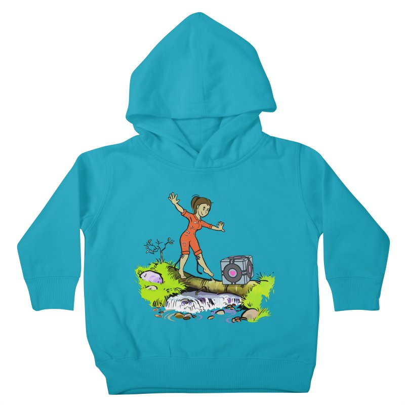 There's Testing Everywhere! Kids Toddler Pullover Hoody by Ellipsis