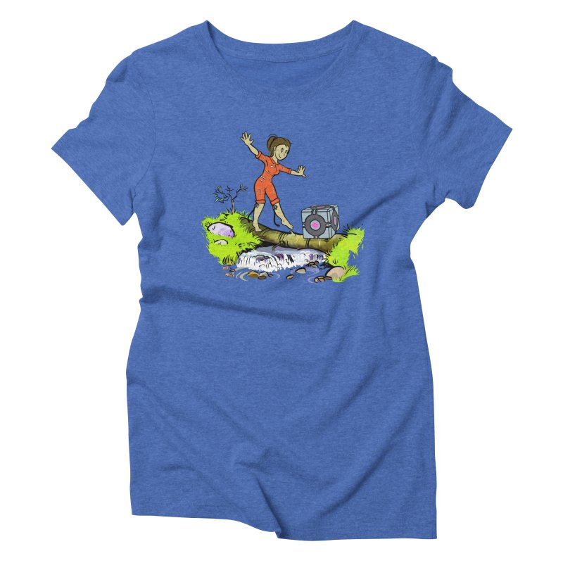 There's Testing Everywhere! Women's Triblend T-Shirt by Ellipsis
