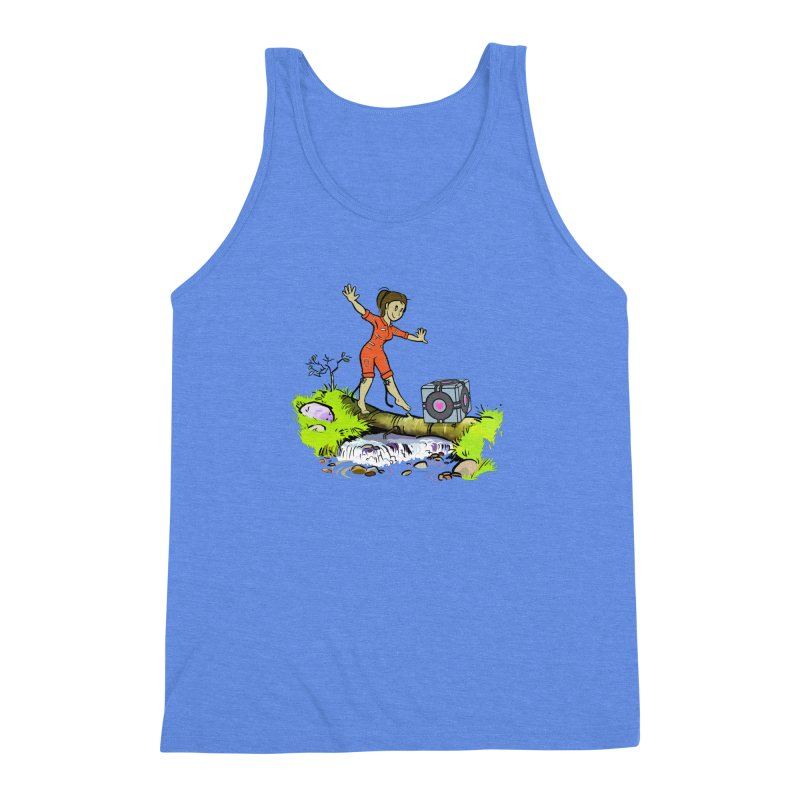 There's Testing Everywhere! Men's Triblend Tank by Ellipsis