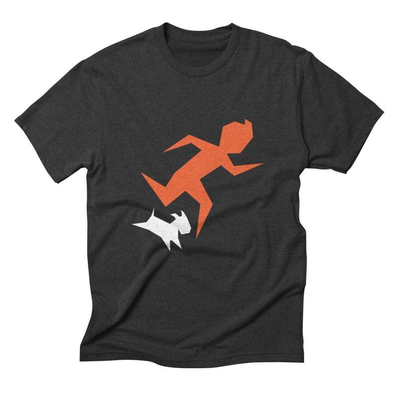 Sharp Reporter Men's Triblend T-shirt by Ellipsis