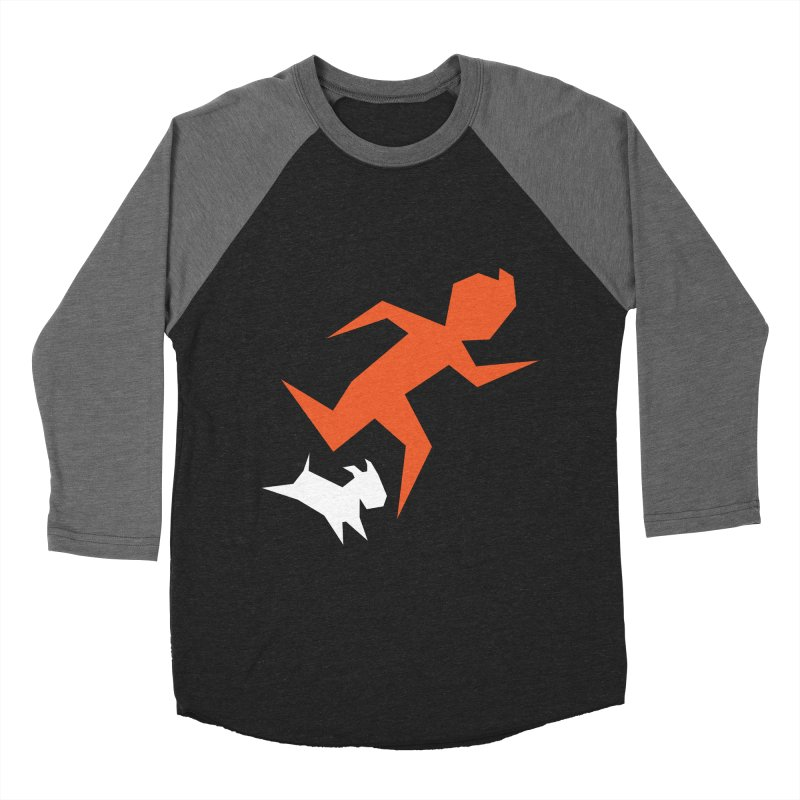 Sharp Reporter Men's Baseball Triblend T-Shirt by Ellipsis