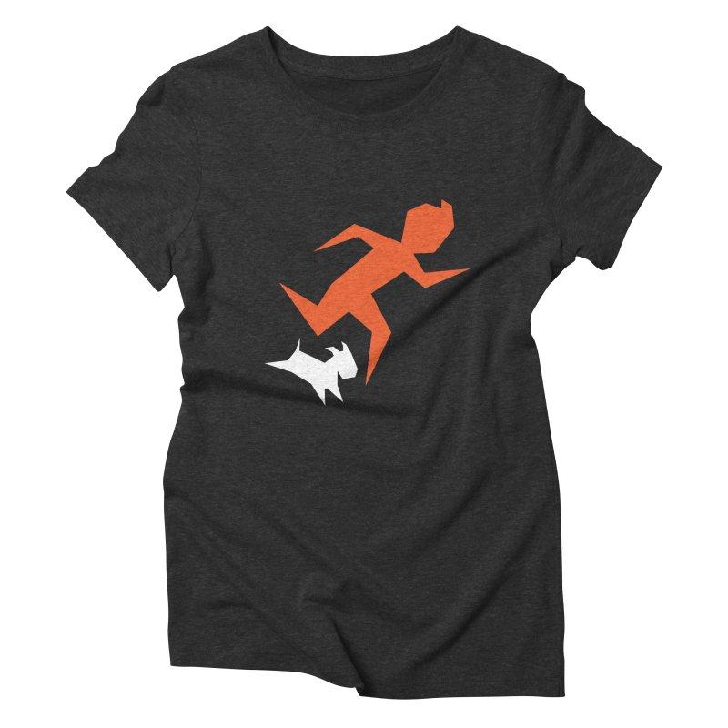 Sharp Reporter Women's Triblend T-Shirt by Ellipsis