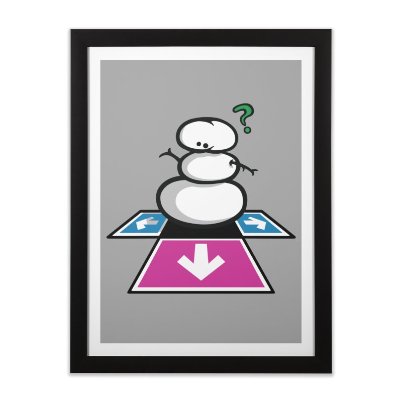 Chilling Realization Home Framed Fine Art Print by Ellipsis